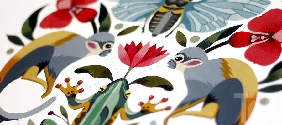 Maya Hanisch Ilustradora Arte Folk Tell